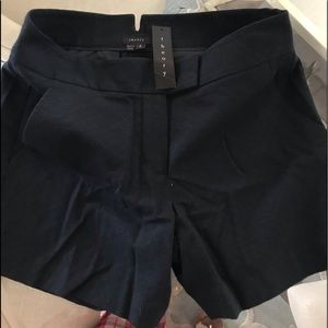 Theory Brand NWT Classic Dark Teal Shorts Size 2